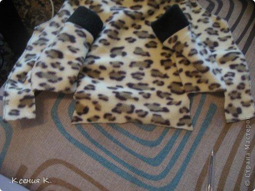 Мастер-класс Шитьё: Обещанный мастер класс по пошиву комбинезона для собак Ткань. Фото 29