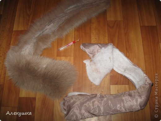 Гардероб, Мастер-класс Шитьё: Шапка из воротника. Мех, Ткань. Фото 3