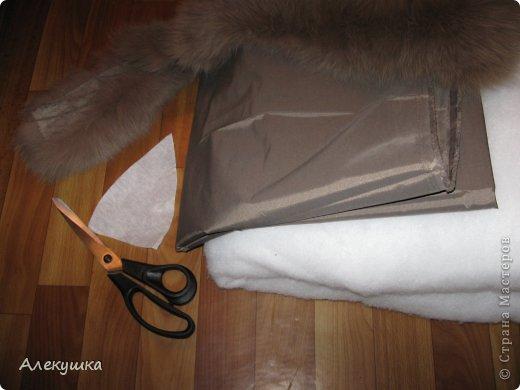 Гардероб, Мастер-класс Шитьё: Шапка из воротника. Мех, Ткань. Фото 4