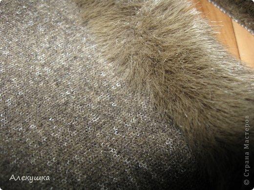 Гардероб, Мастер-класс Шитьё: Шапка из воротника. Мех, Ткань. Фото 19