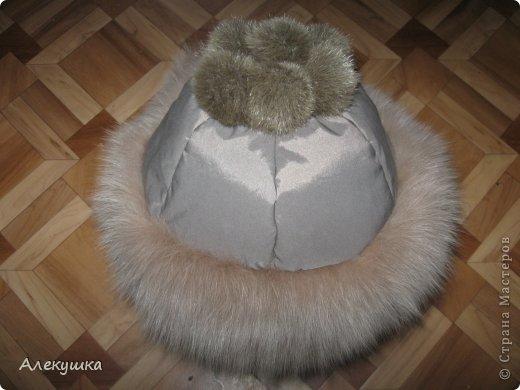 Гардероб, Мастер-класс Шитьё: Шапка из воротника. Мех, Ткань. Фото 26