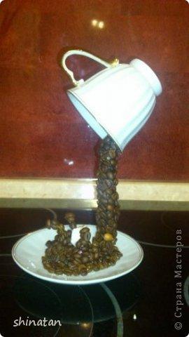 Мастер-класс, Поделка, изделие, Скульптура Макет: летающая чашка кофе Кофе Дебют. Фото 5