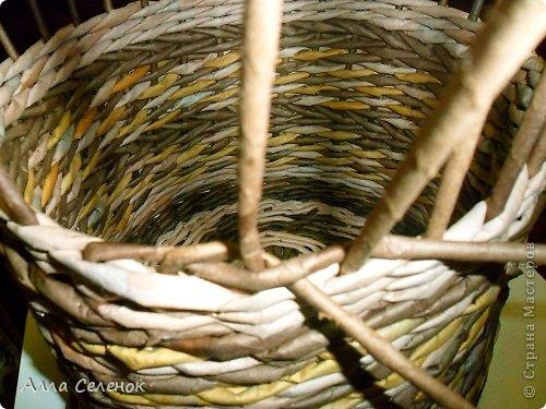 Мастер-класс, Поделка, изделие Плетение: МК загибки. Бумага газетная, Трубочки бумажные Отдых. Фото 3