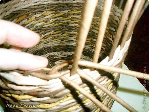 Мастер-класс, Поделка, изделие Плетение: МК загибки. Бумага газетная, Трубочки бумажные Отдых. Фото 4