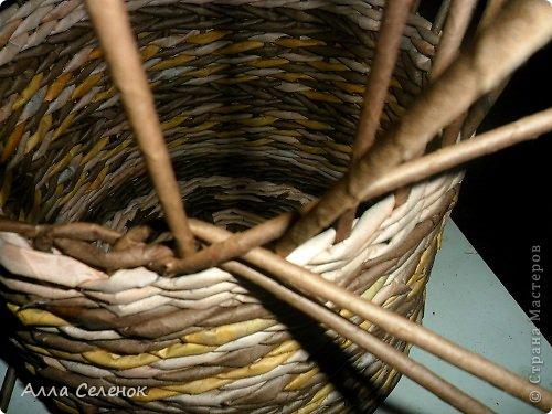 Мастер-класс, Поделка, изделие Плетение: МК загибки. Бумага газетная, Трубочки бумажные Отдых. Фото 5