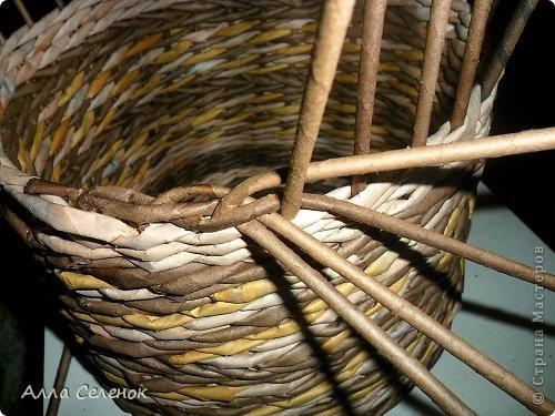 Мастер-класс, Поделка, изделие Плетение: МК загибки. Бумага газетная, Трубочки бумажные Отдых. Фото 6