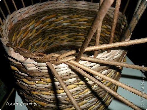 Мастер-класс, Поделка, изделие Плетение: МК загибки. Бумага газетная, Трубочки бумажные Отдых. Фото 8