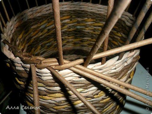 Мастер-класс, Поделка, изделие Плетение: МК загибки. Бумага газетная, Трубочки бумажные Отдых. Фото 9