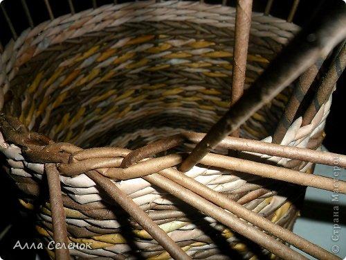 Мастер-класс, Поделка, изделие Плетение: МК загибки. Бумага газетная, Трубочки бумажные Отдых. Фото 10