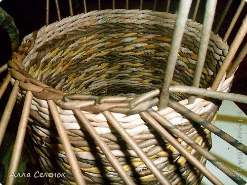 Мастер-класс, Поделка, изделие Плетение: МК загибки. Бумага газетная, Трубочки бумажные Отдых. Фото 11