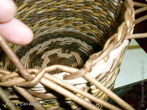 Мастер-класс, Поделка, изделие Плетение: МК загибки. Бумага газетная, Трубочки бумажные Отдых. Фото 13