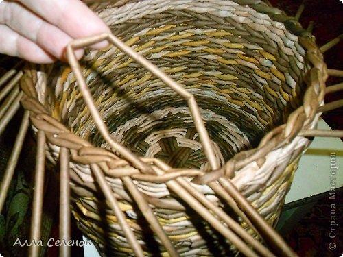 Мастер-класс, Поделка, изделие Плетение: МК загибки. Бумага газетная, Трубочки бумажные Отдых. Фото 14