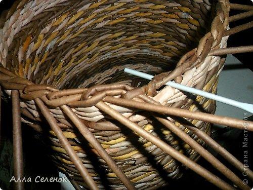 Мастер-класс, Поделка, изделие Плетение: МК загибки. Бумага газетная, Трубочки бумажные Отдых. Фото 15