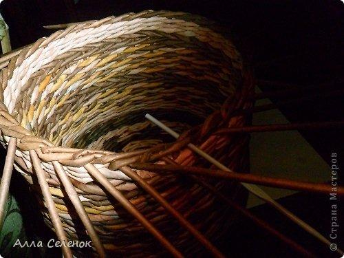 Мастер-класс, Поделка, изделие Плетение: МК загибки. Бумага газетная, Трубочки бумажные Отдых. Фото 16