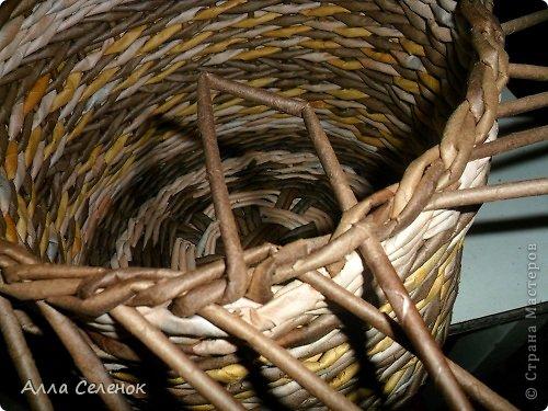 Мастер-класс, Поделка, изделие Плетение: МК загибки. Бумага газетная, Трубочки бумажные Отдых. Фото 17