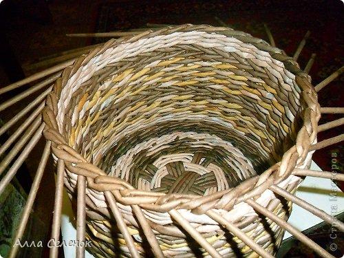 Мастер-класс, Поделка, изделие Плетение: МК загибки. Бумага газетная, Трубочки бумажные Отдых. Фото 18