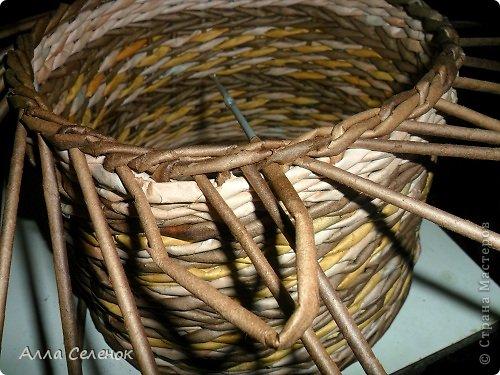 Мастер-класс, Поделка, изделие Плетение: МК загибки. Бумага газетная, Трубочки бумажные Отдых. Фото 19