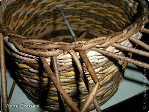 Мастер-класс, Поделка, изделие Плетение: МК загибки. Бумага газетная, Трубочки бумажные Отдых. Фото 21