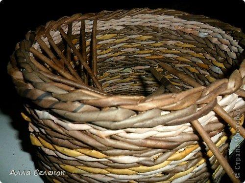 Мастер-класс, Поделка, изделие Плетение: МК загибки. Бумага газетная, Трубочки бумажные Отдых. Фото 22