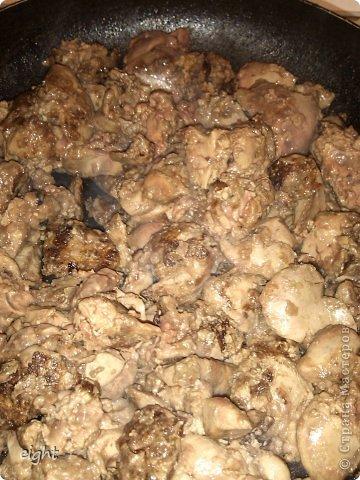 Кулинария, Мастер-класс Рецепт кулинарный: Куриная печень - наш любимый рецепт.. Фото 4
