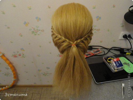 Мастер-класс, Прическа Плетение: МК 2 в1 . Фото 6