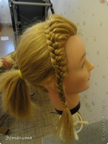 Мастер-класс, Прическа Плетение: МК 2 в1 . Фото 12