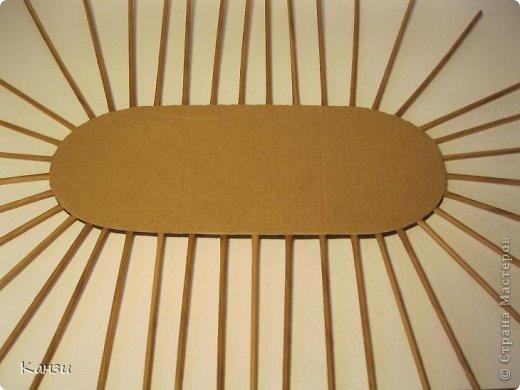 Поделка, изделие Плетение: МК корзинки с крышкой Бумага газетная. Фото 16