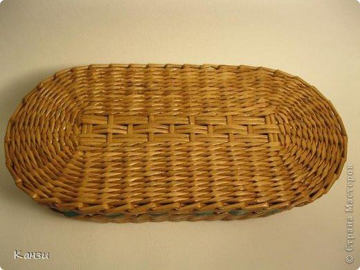 Поделка, изделие Плетение: МК корзинки с крышкой Бумага газетная. Фото 29