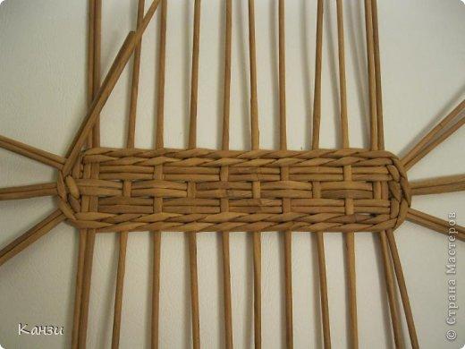 Поделка, изделие Плетение: МК корзинки с крышкой Бумага газетная. Фото 5