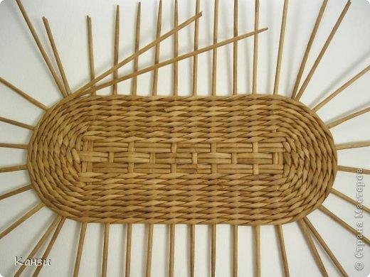 Поделка, изделие Плетение: МК корзинки с крышкой Бумага газетная. Фото 6