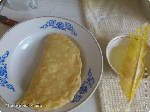 Кулинария, Мастер-класс: Кыстыбый с картошкой Тесто для выпечки. Фото 6