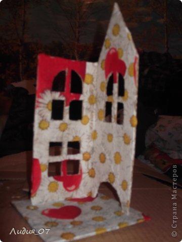 Мастер-класс Декупаж: Чайный домик!!!! Картон, Салфетки Отдых. Фото 3