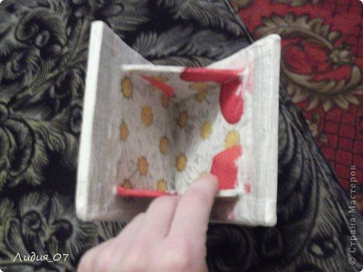 Мастер-класс Декупаж: Чайный домик!!!! Картон, Салфетки Отдых. Фото 9