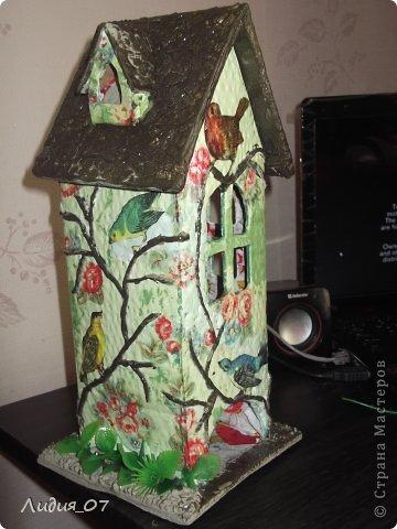 Мастер-класс Декупаж: Чайный домик!!!! Картон, Салфетки Отдых. Фото 18
