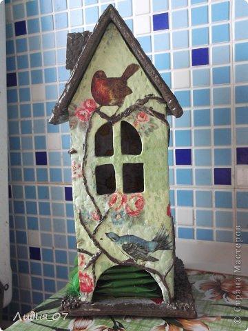 Мастер-класс Декупаж: Чайный домик!!!! Картон, Салфетки Отдых. Фото 1