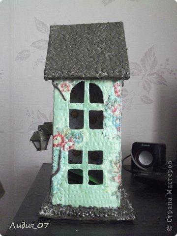 Мастер-класс Декупаж: Чайный домик!!!! Картон, Салфетки Отдых. Фото 23