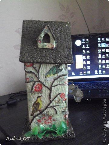 Мастер-класс Декупаж: Чайный домик!!!! Картон, Салфетки Отдых. Фото 22