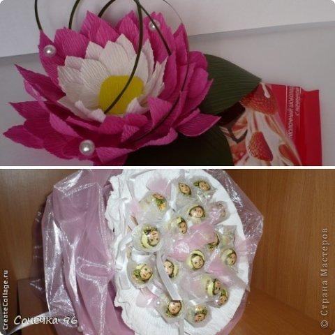 Свит-дизайн: Первые шаги  в свит-дизайне Бумага гофрированная 8 марта, Валентинов день. Фото 1