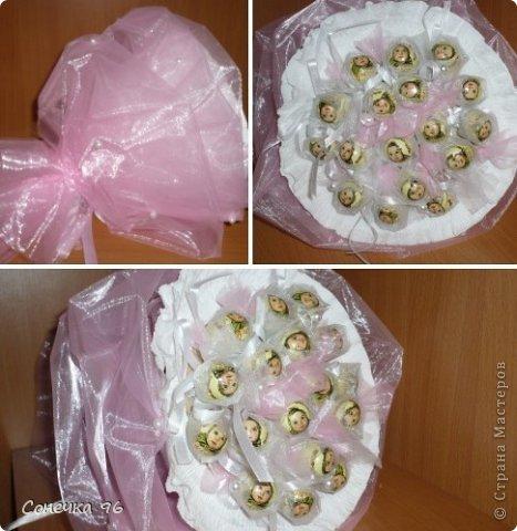Свит-дизайн: Первые шаги  в свит-дизайне Бумага гофрированная 8 марта, Валентинов день. Фото 2