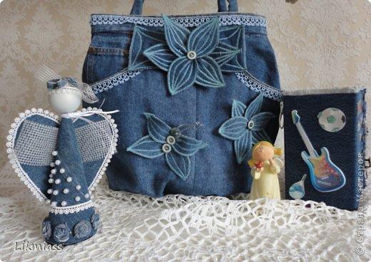 Гардероб, Декор предметов Шитьё: АХ, ЭТИ BLUE JEANS..... Ткань 8 марта, День рождения. Фото 1