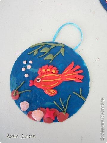 Интерьер Аппликация из пластилина (+ обратная), Лепка: К 8 марта пластилиновые подарки от детей! Пластилин 8 марта. Фото 16