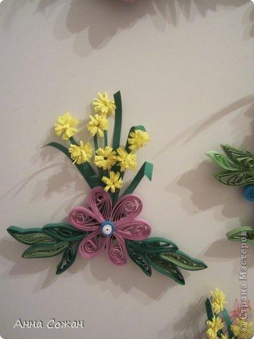 Интерьер Бумагопластика, Квиллинг: С 8 марта. Магнитики,шоколадницы и поздравления! Бумага 8 марта. Фото 12
