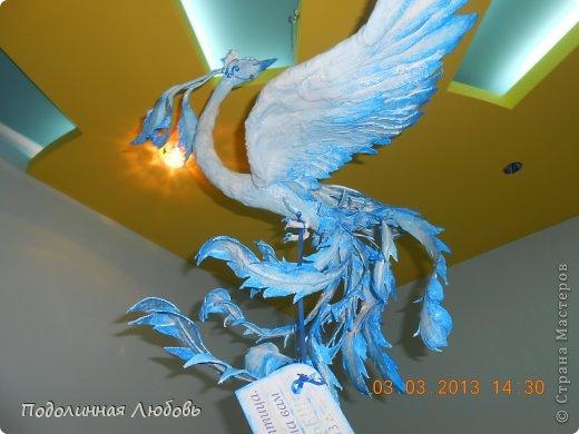 Мастер-класс, Скульптура Лепка: Птица Счастья в моих руках (то есть своими руками) Гипс День семьи. Фото 1