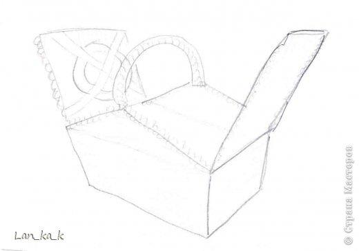 Поделка изделие Плетение Первая корзина для пикника Бумага газетная Трубочки бумажные фото 3