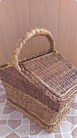 Поделка изделие Плетение Снова пикник Трубочки бумажные фото 2