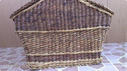 Поделка изделие Плетение Снова пикник Трубочки бумажные фото 3