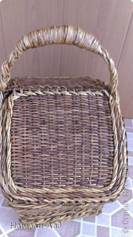 Поделка изделие Плетение Снова пикник Трубочки бумажные фото 4