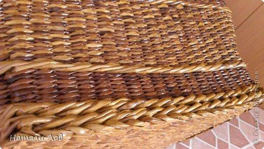 Поделка изделие Плетение Снова пикник Трубочки бумажные фото 6