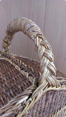 Поделка изделие Плетение Снова пикник Трубочки бумажные фото 7