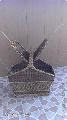 Поделка изделие Плетение Снова пикник Трубочки бумажные фото 9